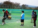テニスジュニアレッスン